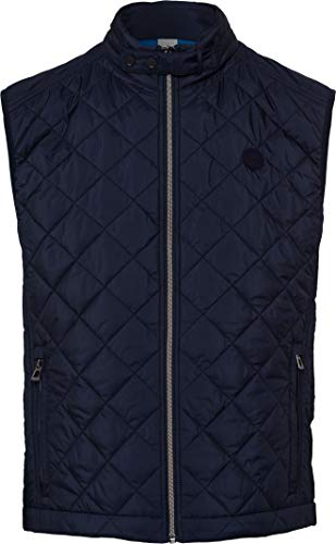 BRAX Herren Style Fox City Nylon Wattiert Outdoor Weste, Navy, X-Large (Herstellergröße: 54)