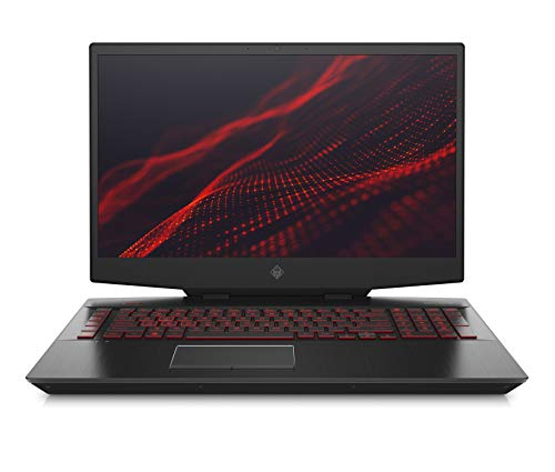 OMEN 17-cb0006ng (17,3 Zoll / FHD IPS 144Hz) Gaming Laptop (Intel Core i7-9750H, 16GB DDR4 RAM, 1TB HDD, 512GB SSD, Nvidia GeForce RTX 2070 8GB GDDR6, Nvidia G-SYNC, Windows 10) schwarz