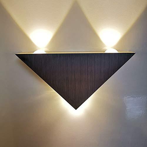 HYH Triangolare Lampada da Parete in Alluminio Ha Portato Moderno E Minimalista Lampada da Comodino Creativo Lampada Decorativa Una Bella Vita