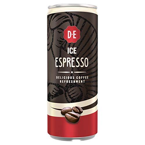 Douwe Egberts Ice Espresso IJskoffie, 12 x 250 ml Blik