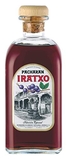Pacharan Iratxo Frasca, spanischer Anis-Schlehenlikör. 1,0L, 25% vol. Ohne Farbstoff. Aus 240 gr. wilden Schlehen.