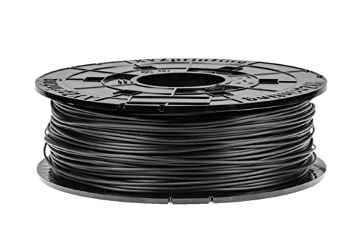 XYZ PRINTING FIL_CARBON_PLA – Bobina de filamento de carbono con 600 g de filamento, PLA – Negro – Especialmente diseñado para las impresoras XYZ Printing Da Vinci Junior Mini WiFi Pro Color y Super