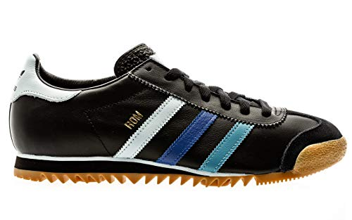 adidas Originals Rom, core Black-Sky Tint-Team royal Blue, 10,5