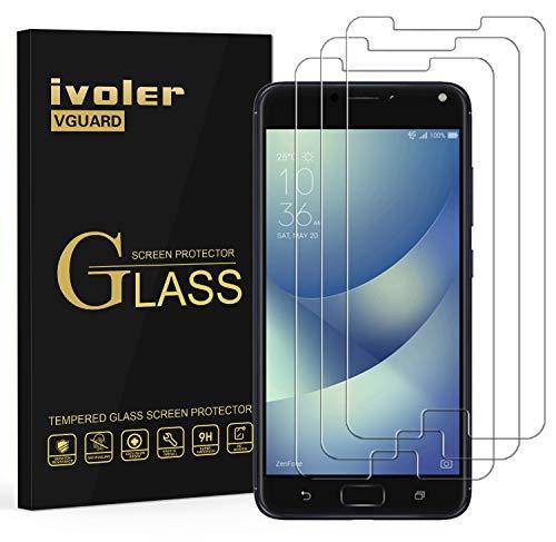 iVoler [3 Pack] Pellicola Vetro Temperato per ASUS Zenfone 4 Max ZC520KL 5.2'', Pellicola Protettiva, Protezione per Schermo