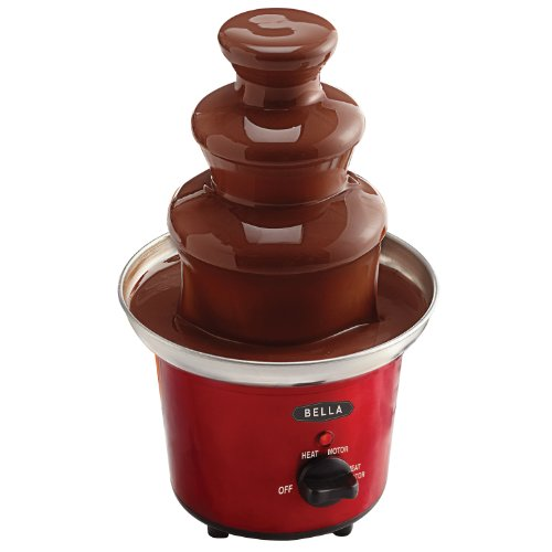 BELLA 13715 Chocolate Fountain Maker, Red