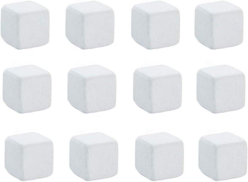 VILLCASE 12 Piezas Pecera Piedra de Calcio Pecera Mineral de Calcio Natural Pecera Piedras Minerales Molares Suplemento de Calcio Piedra de Molienda para Tortuga Pecera Acuario