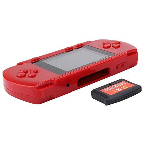 ROMACK Consola de Juegos con Tarjeta de Juego Cómodo Juego de niños con sensación de Mano para niños