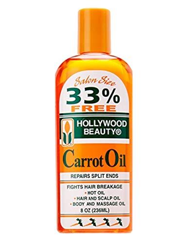 Hollywood Beauty Carrot Oil 8 oz.