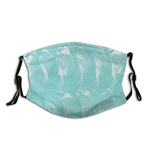 FULIYA Gezichtsmaskers Wasbaar Herbruikbaar voor Vrouwen Mannen, Schuim En Zeep Koolzuurhoudende Clean Fresh Hygiëne Zuiverheid Shampoo Ontwerp, 5.9x7.9Inch Medium Unisex Volwassen