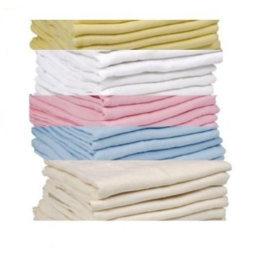 DUDU N GIRLIE 6 x SUPREME QUALITY MUSLIN SQUARES 100/% COTTON 72X 72CM,PLEASE CHOOSE THE COLOURS FROM THE OPTION