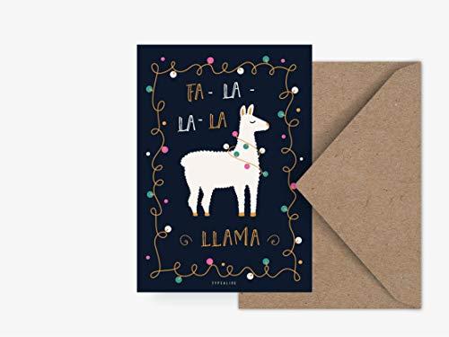 Postkarte - Fa-La-Llama