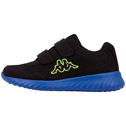 Kappa Jungen Unisex Kinder Cracker II Bc K Sneaker, Schwarz (Black 260687k-1160), 30 EU