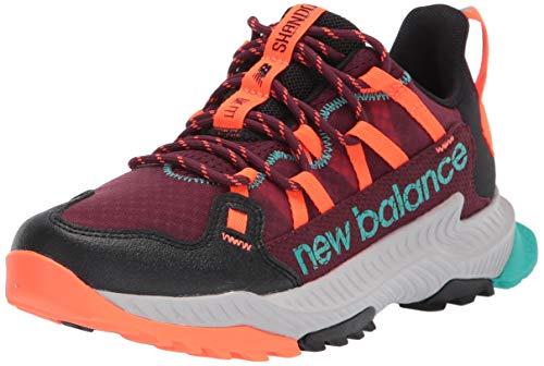 New Balance Men's DynaSoft Shando V1 Trail Running Shoe, Nb Burgundy/Blaze, 10 Wide