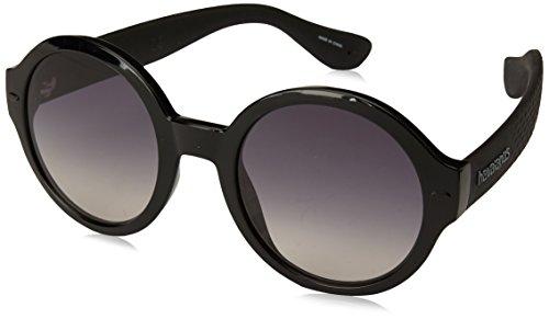Havaianas Damen FLORIPA/M Sonnenbrille, Schwarz (BLACK), 51