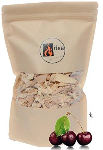 ifea® BBQ Räucherchips Kirsche Premium 1,5l - Wood Smoking Chips - Grillchips zum Smoken & Räuchern