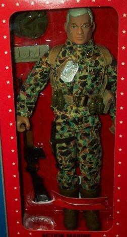 "12"" GI Joe Action Marine Action Figure WWII 50th Anniversary Numbered Commemorative Edition (Hasbro 1995)"