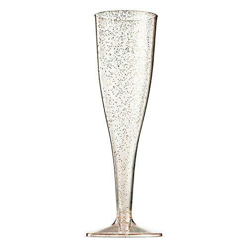 5Pcs / Set De Copas De Champán, Vasos De Agua De Plástico, Copas De Decoración De Cóctel De Recepción De Banquete De Bodas, Copas De Brindis De Boda, Decoración Festiva De Año Nuevocopa De Vino