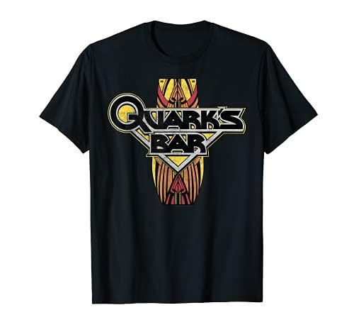 Star Trek DS9 Quark's Bar Vintage Logo Premium T-Shirt
