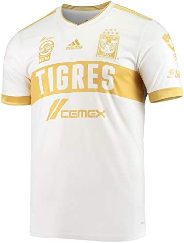 adidas 2021 Tigres Third Jersey - White-Gold