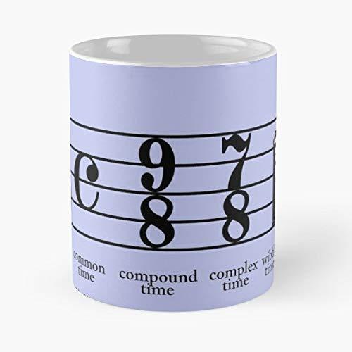 Time Music Doctor Notes Who Tardis Whovian Doctorwho Coffee Mugs Best 11 oz Kaffee-Becher - Tasse Kaffee Motive
