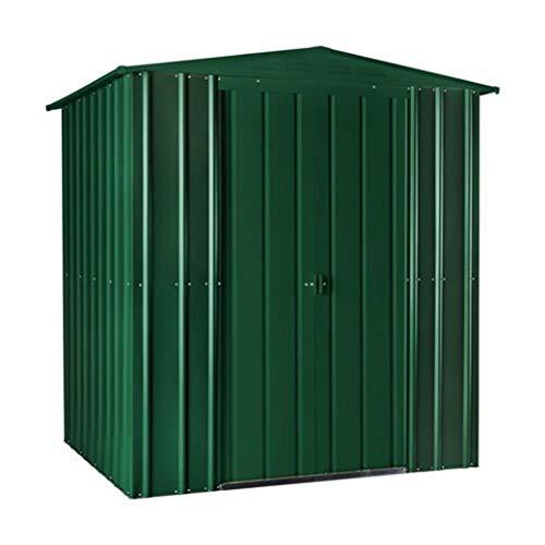 LOTUS 6 x 3 ft Apex Metal Shed-Heritage Green