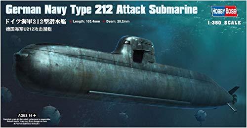 Hobby Boss 83527 Modellbausatz German Navy Type 212 Attack Submarine