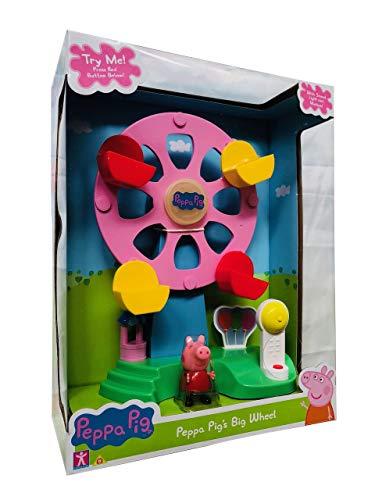 Peppa Pig Peppas Fairground Riesenrad-Spielset Lichter & Geräusche mit Figur