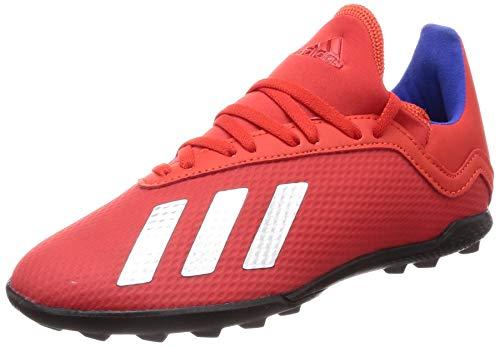 Adidas X 18.3 TF J, Botas de fútbol Unisex Adulto, Multicolor (Multicolor 000), 38 2/3 EU