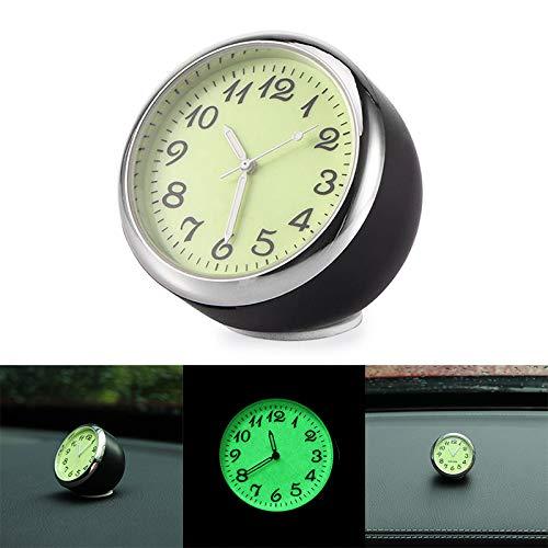 TopHGC Auto Armaturenbrett Uhr, Universal Auto Quarzuhr, Perfekt für Workbench Locker, Auto Dekoration