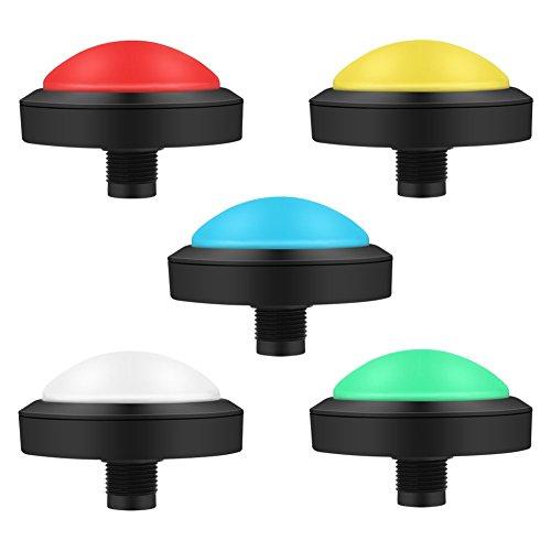 LIXHZJ Botões Arcade e kits de joystick controlador DIY 100 mm botão grande arcada com substituição de console de convexidade de LED//239