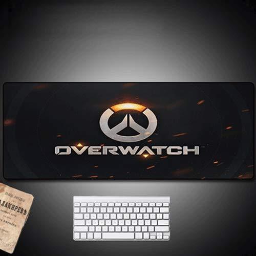 Xfwj Overwatch Logo Mouse Pad Binnenlandse Zaken Anti-slip waterdichte tafel mat Desk Writing Board Dubbelzijdig Large PC Game Mouse Pad PC Waterdicht Pad