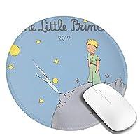 マウスパッド丸型 個性的 おしゃれ 柔軟 かわいい ゴム製裏面 ゲーミングマウスパッド Pc ノートパソコン オフィス用 円形 デスクマット 滑り止め 耐久性が良い 星の王子さま