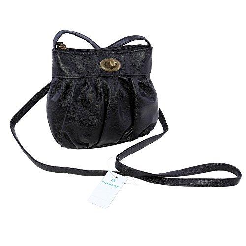 Primark Schwarze Handtasche Schultertasche Tasche ATMOSPHERE