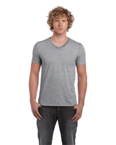 GILDANHerren T-Shirt Grau Sports Grey L,Grau - Sports Grey
