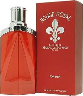 Marina De Bourbon Rouge Royal By Marina De Bourbon For Men. Eau De Toilette Spray 3.3 Ounces