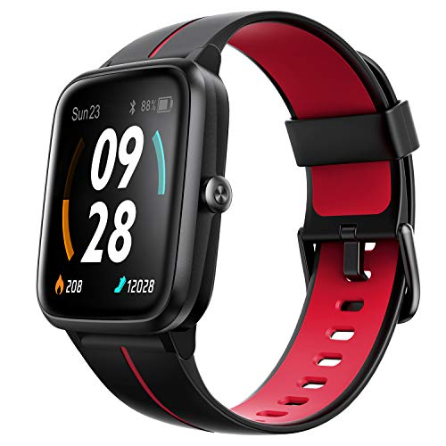 Ulefone Smart Watch GPS, GPS Running Smartwatch for Men Women and Kids, 24Hr Heart Rate Monitor Step Counter Sleep Monitor, 5ATM Waterproof Fitness Tracker Watch Compatible with iPhone Android Phones