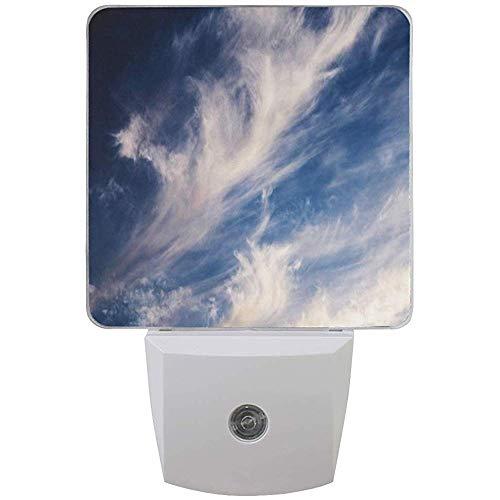 Katrine Store Nachtlicht White Clouds Auto Senor Dämmerung bis Morgendämmerung LED-Licht Lampe für Flur, Küche, Bad, Schlafzimmer, Treppe