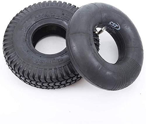 aipipl Neumáticos Interiores y Exteriores, patrón de Banda de Rodadura Antideslizante Resistente...