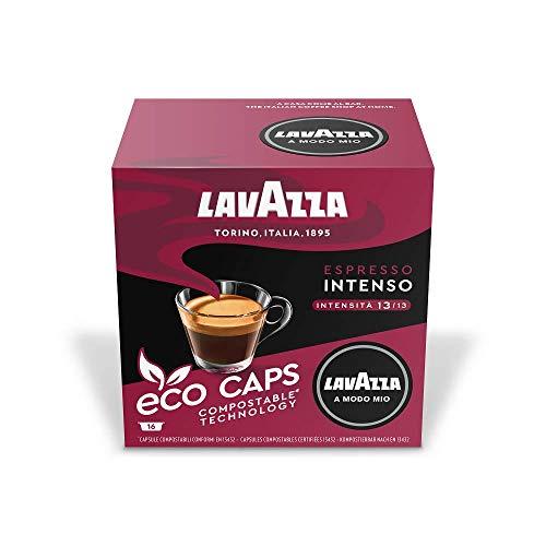 Lavazza A Modo Mio Eco Caps Coffee Pods, Espresso Intenso