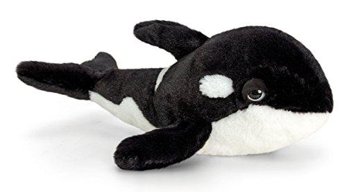 Lashuma Plüschtier Orca, Fisch aus Plüsch, Kuscheltier Wal, Stofftier Keel Toys 35 cm