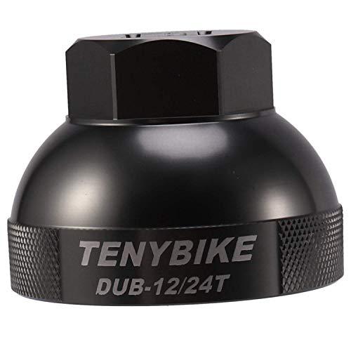 HYY-YY Herramienta de reparación de pedalier de bicicleta de pedalier de pedalier para bicicletas de montaña y carretera, de HB12T-24T DUB MTB