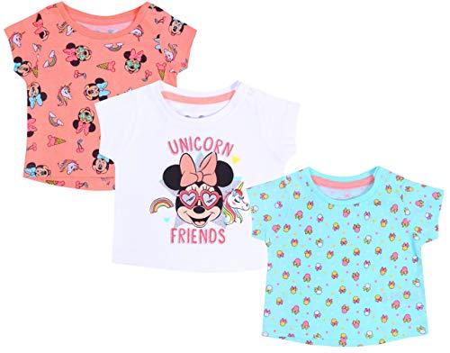 3 x Blousons Souris colorées Minnie Disney 12-18 Mois