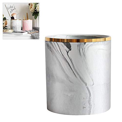teyiwei Make-Up Pinselhalter Nordischen Marmor Keramik Desktop Kosmetische Pinsel Stift Fälle Cup Organizer