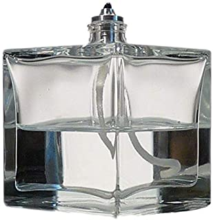 Firefly Aura Petite Square Refillable Glass Oil Lamp - Strong Soda Glass
