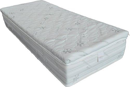 Flexar Decoración 7cm–Topper de Memory Foam de lana sopra il colchón de tela ALOE VERA, antibacteriana plumón de diferentes tamaños disponibles, Pre aumentar morbidezza y acogida