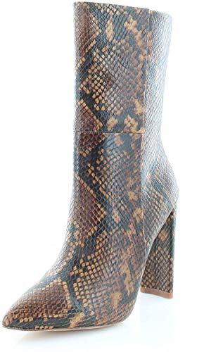 ALDO Womens Schuler Pointed Toe Mid-Calf Fashion Boots, Brown, Size 7.5