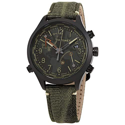 Timex Waterbury Quartz Black Dial Men's Watch TW2R43200
