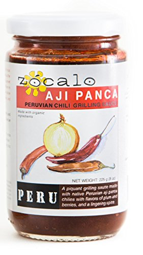 Zócalo Organic Aji Sauce - Peruvian Panca Chili and Herbs (8 ounces)