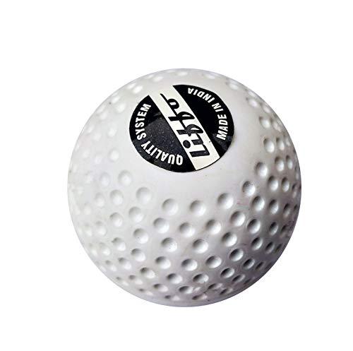 Liffo Match Field Hockey Ball (White, hockeyball1) (4)