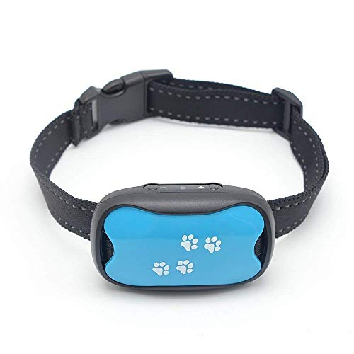 Dog BARK Collar - Humane Dog Barking Control Device - Vibration and Sound only - Waterproof No Shock Bark Stopper - Best No Bark Collar for Small Medium and Large Breed Dogs